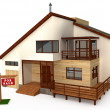 3d house — Stock Photo