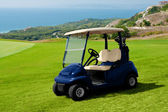 Golf car — Stock Photo
