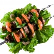 Meat shish kebab — Stock Photo