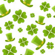 Seamless St.Patricks day background — Stock Vector #5247020