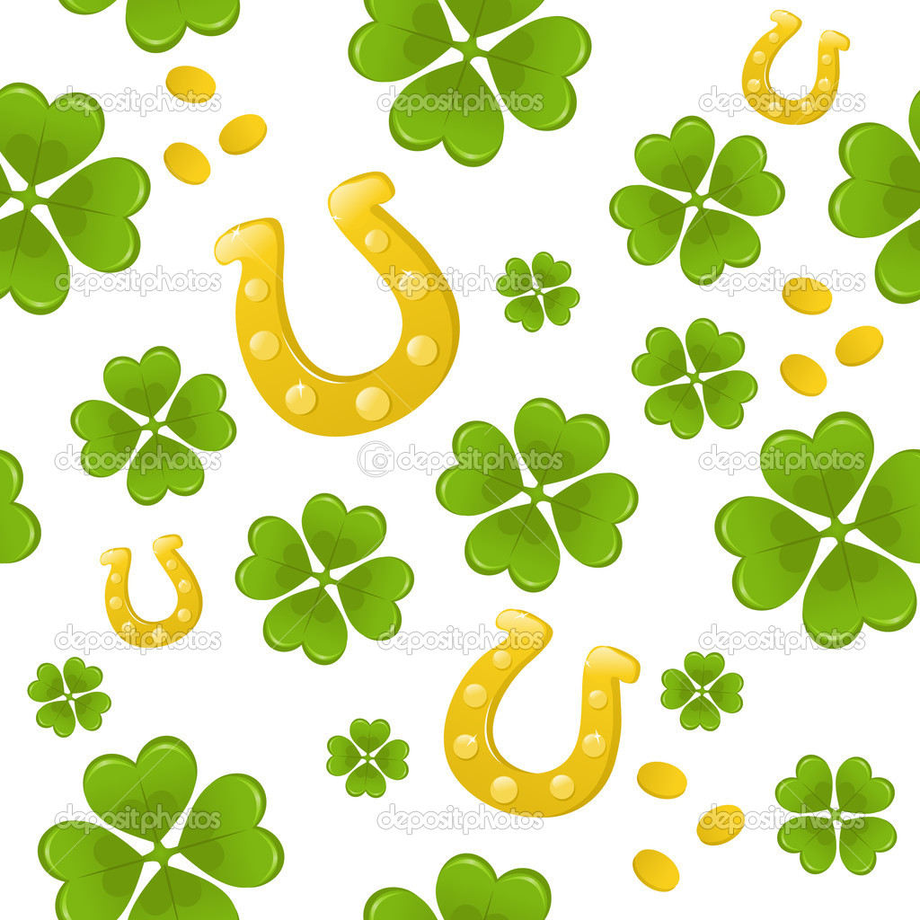 Seamless St.Patricks day background — Stock Vector #5247009