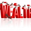 Bilding wealth — Stock Photo