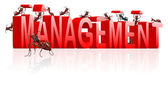 Management manage organisation organise — Stock Photo