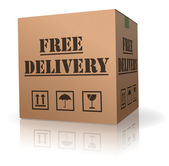 Free package delivery order shipment — Stock Photo
