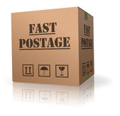 Fast postage — Stock Photo