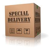 Specialleverans viktig transport — Stockfoto