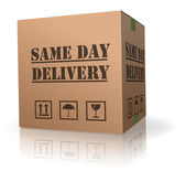 Same day delivery — Stock Photo