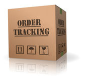 Order tracking — Stock Photo