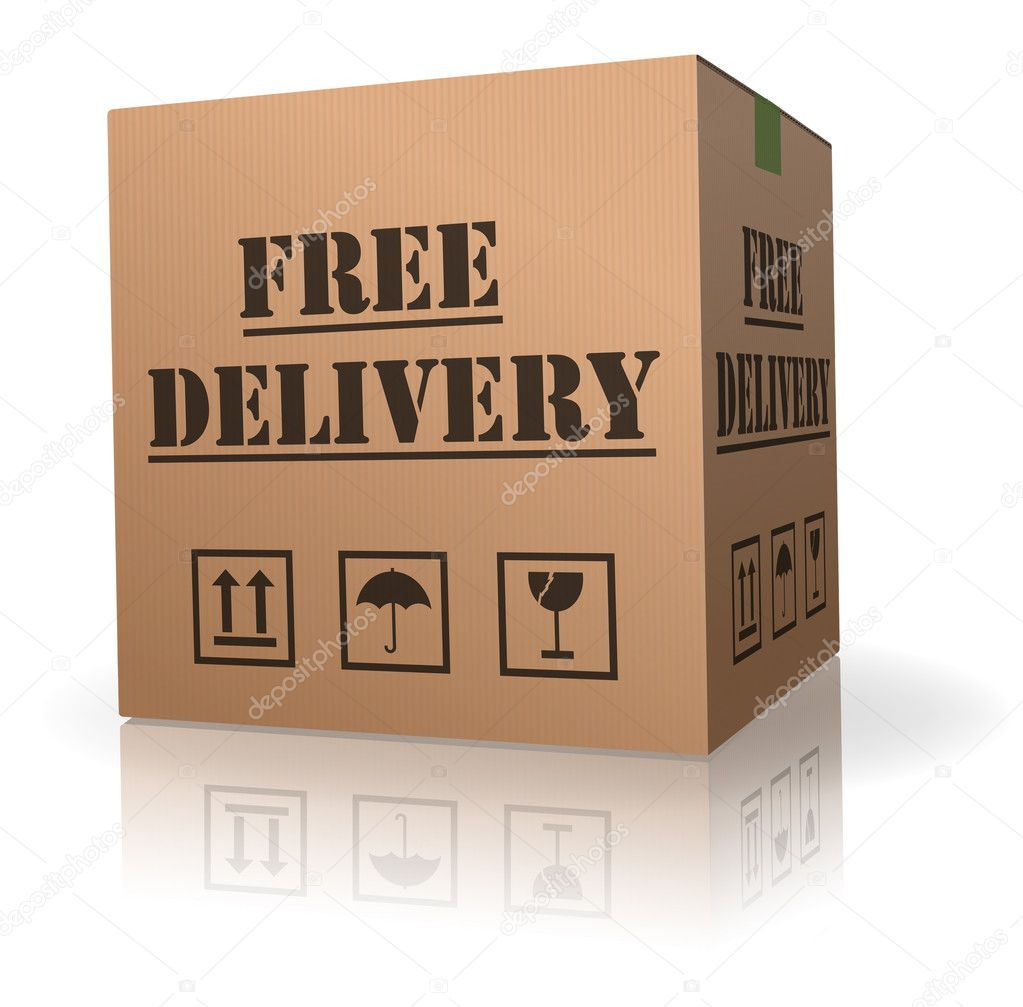 Shipping Delivery: Free Package Delivery Order Shipment