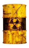 Barrel nuclear waste — Stock Photo