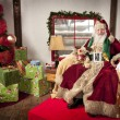 Stock Photo: SantClause
