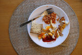 Breakfast plate — Stock Photo