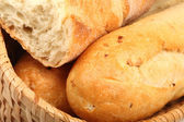 Basket of baguettes. — Stock Photo