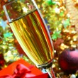 Glass of champagne. — Stock Photo #4354056