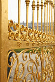 Details of golden gate. — Stock Photo