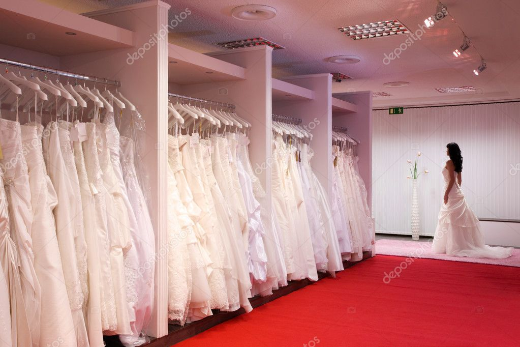 The bridal shop stock photo jura13 4657009 for Wedding dress shops in cleveland ohio