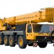 Mobile crane - Stock Photo