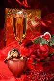 Valentine's Day Decoration. — Stock Photo