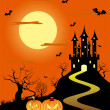 Halloween background — Stock Vector #3985651