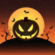 Royalty-Free Stock Векторное изображение: Halloween pumkin