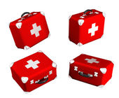 3d medical box — Stock Photo