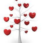 Romantic tree — Stock Photo