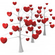 Stock Photo: Romantic tree
