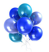 3d color helium balloon — Stock Photo