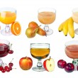 Fruits-Juice — Stock Photo