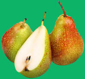 Fruits-Pears — Foto de Stock