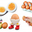 Eggs-Isolated — Stock Photo
