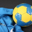 Football-Handball — Stock Photo