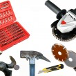 Tools on white anderground — Stock Photo #5139172