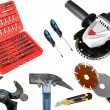 Tools on white anderground — Stock Photo #5139184