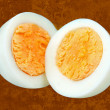 Halved eggs — Stock Photo