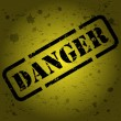 Danger sign - Imagen vectorial