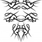 Wings tatoo — Stock vektor #4893934
