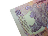 INR 10-Indian Bank Note — Stock fotografie