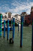 Rialto bridge venice — Stock Photo