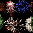 Firework display - Foto Stock