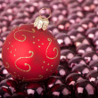 Bauble on small baubles — Lizenzfreies Foto