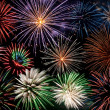 Stockfoto: Firework display