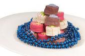 Party chocolates — Stock Photo