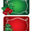 Christmas cards — Stock Vector #4143886