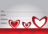 Suspected in love — Stock Vector
