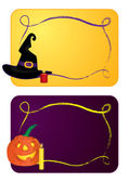 Halloween cards — Stock Vector