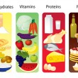 Vector de stock : Food concept