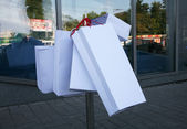 Shopping bags: variant — Stock Photo