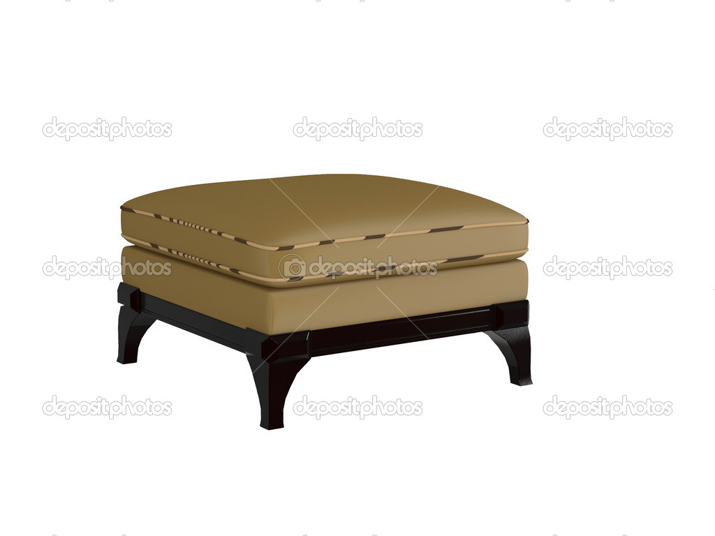 brown leather sofa isolated - photo #11