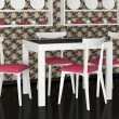 Stock Photo: Interior design of vintage dining room